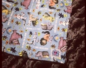 Where the wild things are baby blanket with your choice of minky Baby or Toddler Size