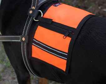 CozyHorse Service Dog Harness Vest - made to fit a Dog Harness - Guide / Mobility / Assistance or similar type Harness