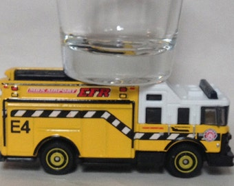 the ORIGINAL Hot Shots Shot Glass,Hazard Squad, Fire Truck