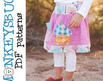 Mouse Manor Twirl Skirt PDF eBook Pattern INSTANT DOWNLOAD