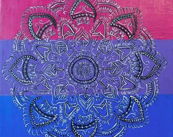 Original Mandala Art Painting: Other