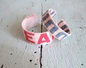 Grain Sack Cuffs - Ecofriendly Bracelets
