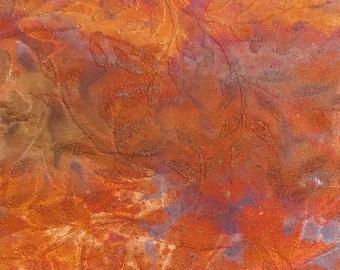 Etched Copper Sheet Metal Patina Copper Sheet Metal Leaf