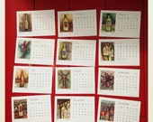 2015 Desk Calendar - Wine Theme Art