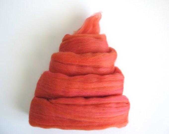 Color Fusion - 19 Micron Merino Top - Melon - 1oz