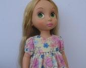 "Clothes for Disney Princess Animators Toddler 16"" Doll Dress"