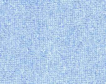 Baby Stretch Knit Terry Light Blue - 8362-a-ltblu - By the Yard