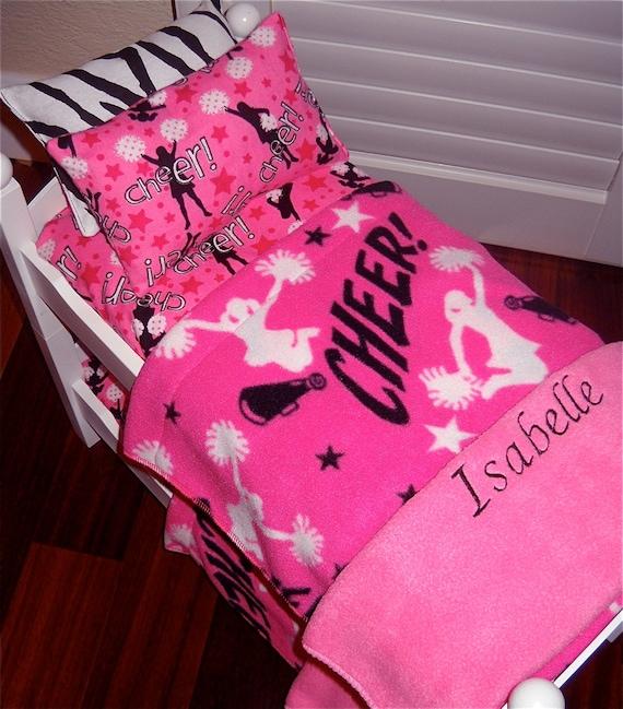 Simple Cheerleading Themed Bedrooms