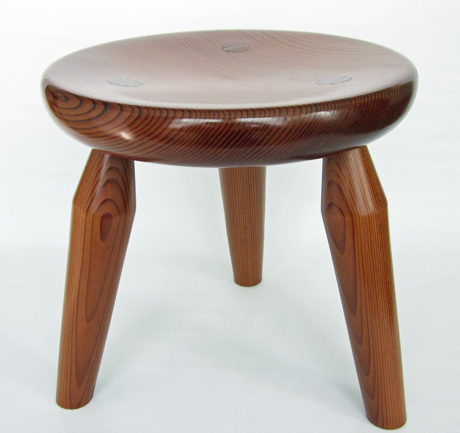 Three Legged Milking Stool Made From By Luckysustainables