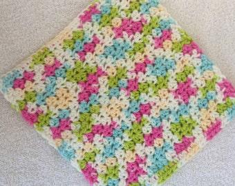 Crochet Dishcloth-Lava