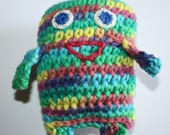 Crochet Blob toy, Crochet Toy, Amigurumi, Soft Toy, Bath Toy for Babies and Toddlers, Gift for Baby
