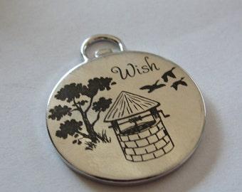 Wishing Well Pendant/Charm