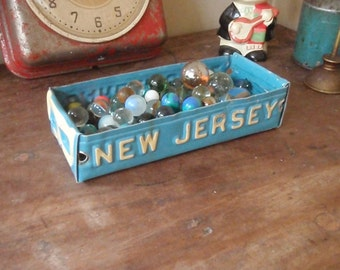 New Jersey License Plate Tray - Rustic Treasure Tray - Storage Box - Planter - FREE SHIPPING