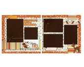 Happy Fall - Premade Scrapbook Page Set