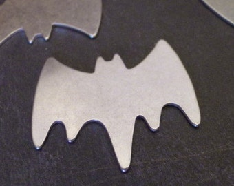 BIG BAT - Aluminum Stamping Blank - 20g - QUANTITY  1 - perfect for superhero keychains