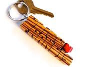 Zebrano Wood 2-Liner Love...