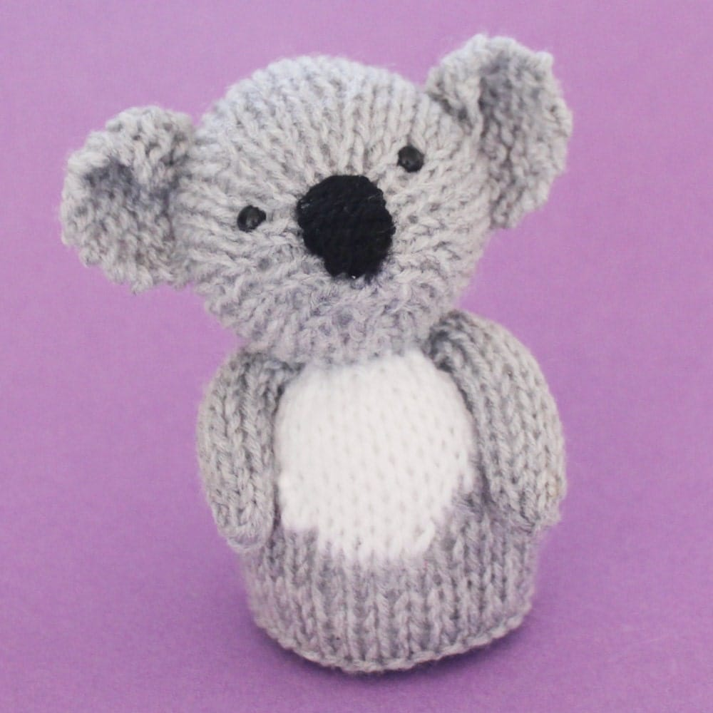 Cable Mittens Knitting Pattern : Koala Toy Knitting Pattern PDF