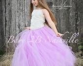Lilac Flower Girl Dress  ...