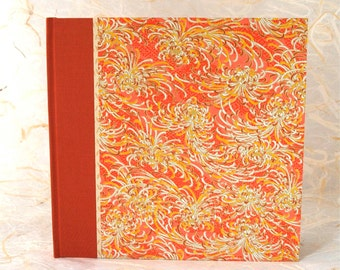 Wedding Photo Album Orange Mum - Great for Weddings, Birthdays, Showers, Babies, Scrapbooks