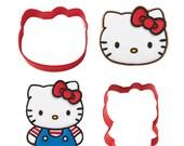 Hello Kitty Cookie Cutter Set 2/Pkg • Hello Kitty Birthday (2308-7575)