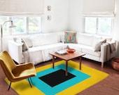 Decorative Rug, modern rug, contemporary rug, carpet, artistic rug, contemporary rug, living room decor, original rug, boyfriend gifts