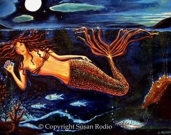 It Wasn't A Dream - Fantasy Art Mermaid Print