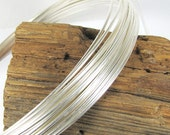 1 foot of 10 gauge half Round sterling silver wire, great for rings and all sorts of things