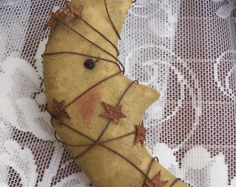 Instant Download Harvest MOON Primitive ORNIE Pattern Quick and Easy Halloween Fall