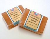Aromatherapy Soothing Vanilla Sandalwood Handmade Soap GIANT Bar