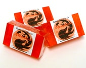Magic The Gathering Soap MOUNTAIN Land Mana Mini Guest Bar Handmade Glycerin Soap MTG Amber Clove and Musk