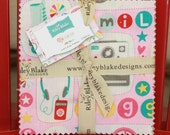 SALE 5 inch charm pack squares GIRL CRAZY by Riley Blake from Design by Dani