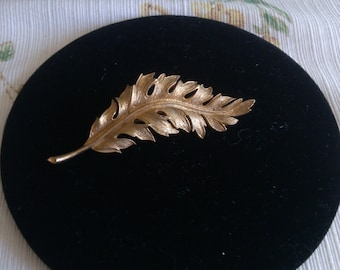 Coro Leaf Brooch from1961