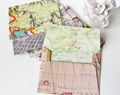RESERVED LISTING For JENNY Historical Map Envelope Assortment Size A-2 Set Of 60
