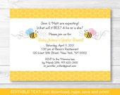 Cute Bumble Bee Gender Re...