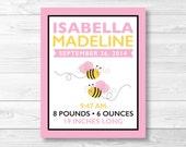 Cute Pink Bumble Bee Nurs...