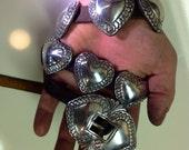 Concho Belt by James Reid of Santa Fe Sterling Silver