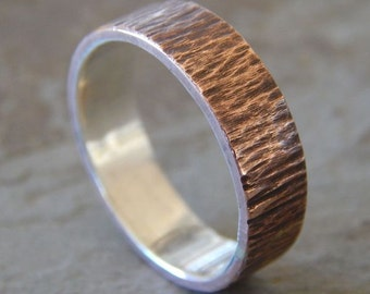 ... wedding band ch oose 4 to 8 mm unique wedding band handcrafted in