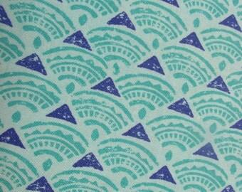Horizon ultramarine fabric - CLEARANCE