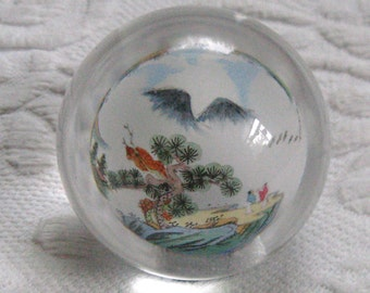 Chinese Reversed Paperweight