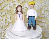 Lineman cake topper