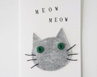 Meow Meow Card