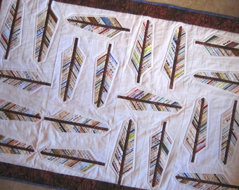AUDUBON Selvage Feather Quilt Pattern from Quilts by Elena includes full instructions for 2 sizes Selvages