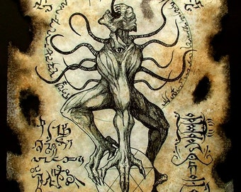 cthulhu larp NYARLATHOTEP RITUALS Necronomicon demon occult dark art magick