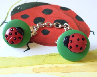 ladybug sweater clip