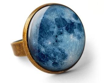 Blue Moon Ring (ER10)