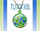 Polymer Clay Tutorial- Faux Gemstone Pendants- Jewelry Tutorial-Tutorials
