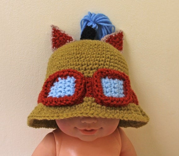 PRE MADE 6-12m - Teemo Hat