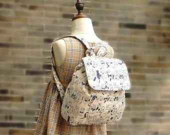 Handmade Kids Backpack Kindergarten School Bag Free Shipping