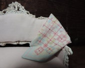 1:12 scale miniature doll quilt  shabby country dollhouse
