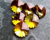 Rivoli-Gorgeous Preciosa Brand Czech Crystal Marea 47SS Rivoli-6 Stones